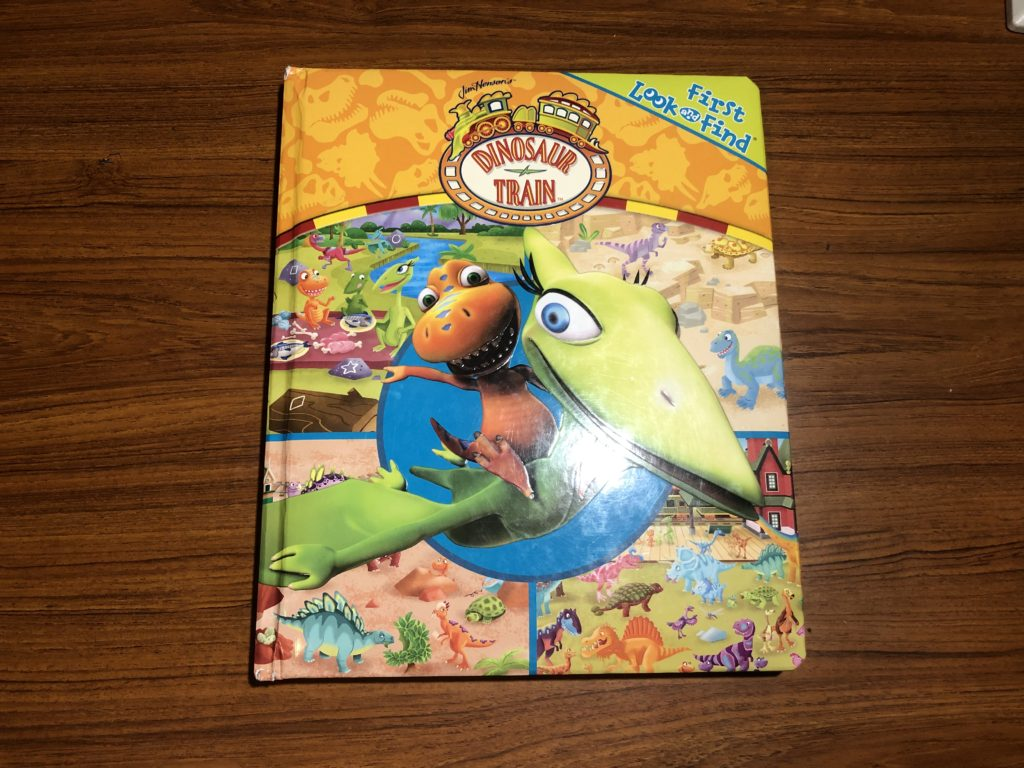 First Look and Find (Dinosaur Train)